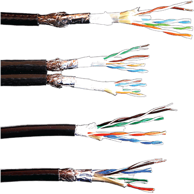 ProPlex CAT5e Cables